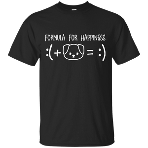 Formula For Happiness - T Shirt Rescuers Club