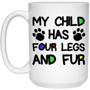 Four Legs And Fur - Mugs Rescuers Club