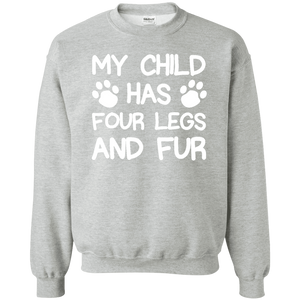 Four Legs And Fur - Sweatshirt Rescuers Club