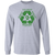 Load image into Gallery viewer, Go Green - Long Sleeve T Shirt Rescuers Club