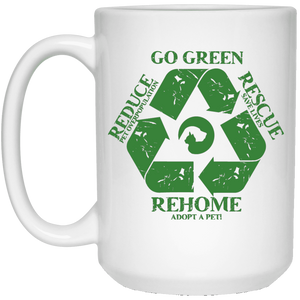 Go Green - Mugs Rescuers Club