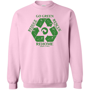 Go Green - Sweatshirt Rescuers Club