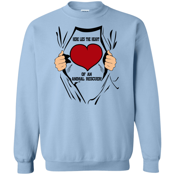 Here Lies The Heart - Sweatshirt Rescuers Club