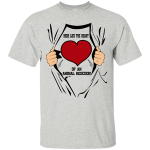 Here Lies The Heart - T Shirt Rescuers Club