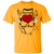 Load image into Gallery viewer, Here Lies The Heart - T Shirt Rescuers Club