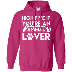 High Five If You're An Animal Lover - Hoodie Rescuers Club