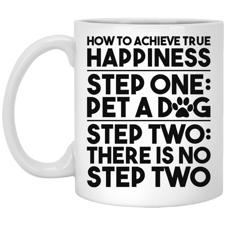 How To Achieve True Happiness - Mugs Rescuers Club
