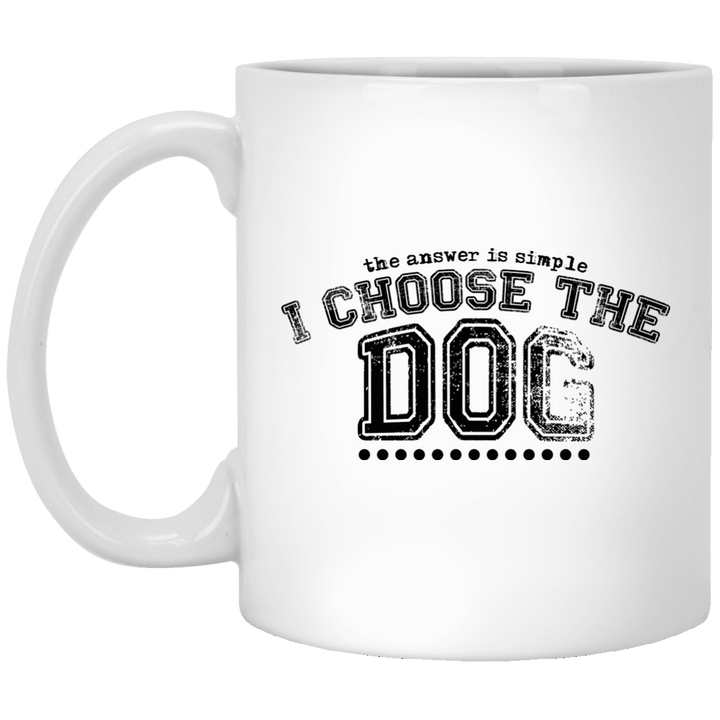I Choose The Dog - Mugs Rescuers Club