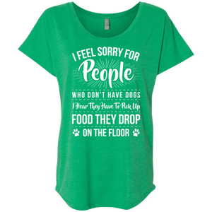 I Feel Sorry For People - Slouchy Tee Rescuers Club