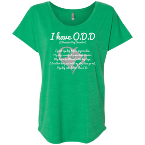 I Have O.D D - Slouchy Tee Rescuers Club
