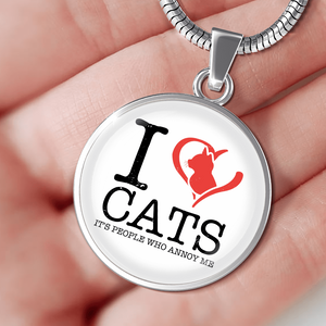 I Love Cats - Pendant Rescuers Club