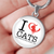Load image into Gallery viewer, I Love Cats - Pendant Rescuers Club