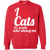 Load image into Gallery viewer, I Love Cats - Sweatshirt Rescuers Club