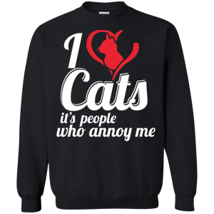 I Love Cats - Sweatshirt Rescuers Club