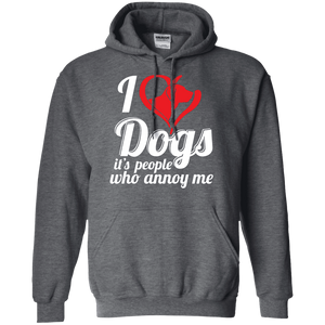 I Love Dogs - Hoodie Rescuers Club