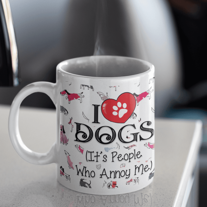 I Love Dogs - Mug Rescuers Club