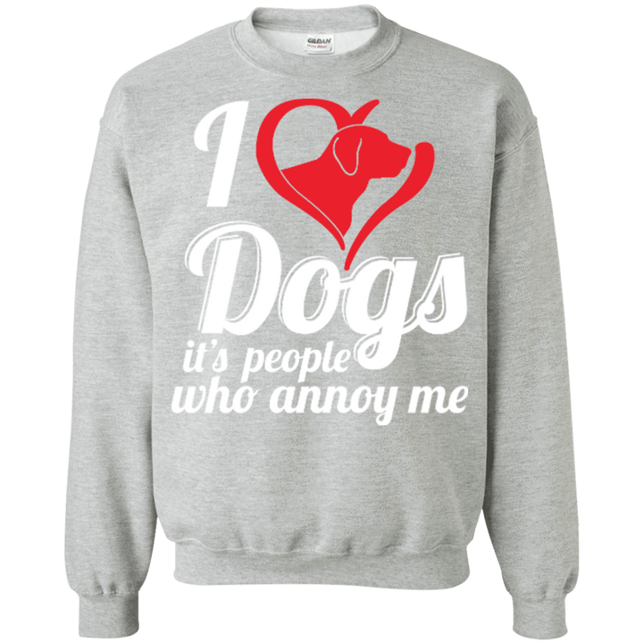 I Love Dogs - Sweatshirt Rescuers Club