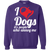 Load image into Gallery viewer, I Love Dogs - Sweatshirt Rescuers Club