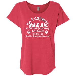 I'm A Cataholic - Slouchy Tee Rescuers Club