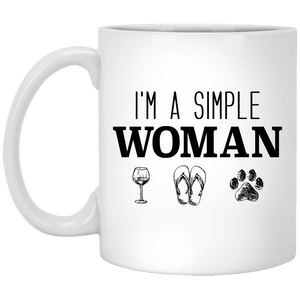 I'm A Simple Woman - Mugs Rescuers Club