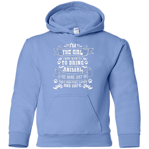 I'm The Girl - Youth Hoodie Rescuers Club