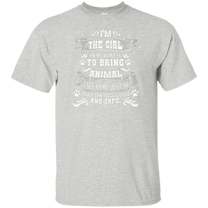 I'm The Girl - Youth T Shirt Rescuers Club