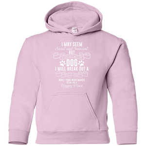 I May Seem Sweet And Innocent - Youth Hoodie Rescuers Club