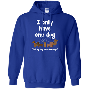 I Only Have 1 Dog - Hoodie Rescuers Club