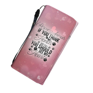 I Rescue Animals - Ladies Wallet/Purse Rescuers Club