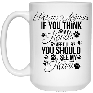 I Rescue Animals - Mugs Rescuers Club