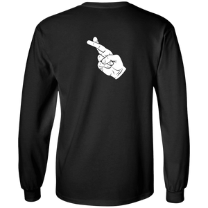 I Swear No More Cats - Long Sleeve T-Shirt Rescuers Club