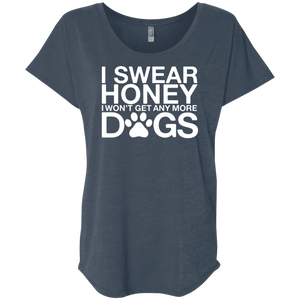 I Swear No More Dogs - Slouchy Tee Rescuers Club
