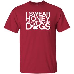 I Swear No More Dogs- T-Shirt Rescuers Club