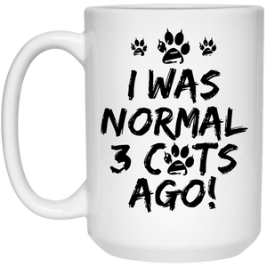 I Was Normal Cats - Mugs Rescuers Club