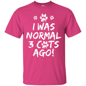 I Was Normal Cats - T Shirt Rescuers Club