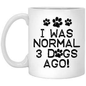 I Was Normal Dogs - Mugs, Apparel - Rescuers Club