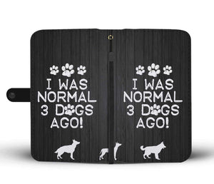 I Was Normal Dogs - Wallet Phone Case Rescuers Club