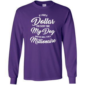 If I Had A Dollar - Long Sleeve T Shirt Rescuers Club