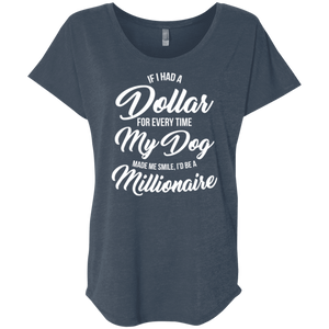 If I Had A Dollar - Slouchy Tee Rescuers Club