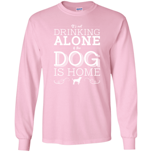 It's Not drinking Alone - Long Sleeve T Shirt Rescuers Club