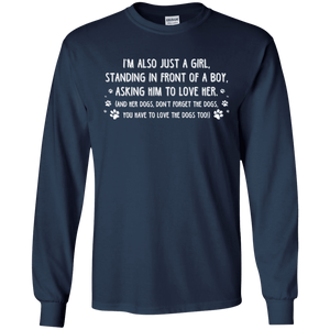 Just A Girl - Long Sleeve T Shirt Rescuers Club