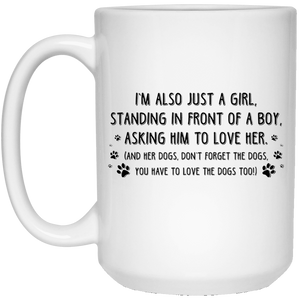 Just A Girl - Mugs Rescuers Club