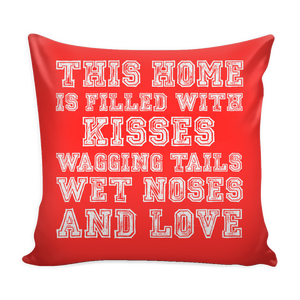 Kisses & Love Pillow Cover Rescuers Club