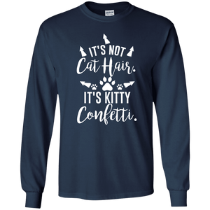 Kitty Confetti - Long Sleeve T Shirt Rescuers Club