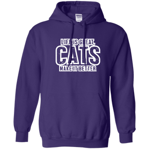 Life Is Great Cats - Hoodie Rescuers Club