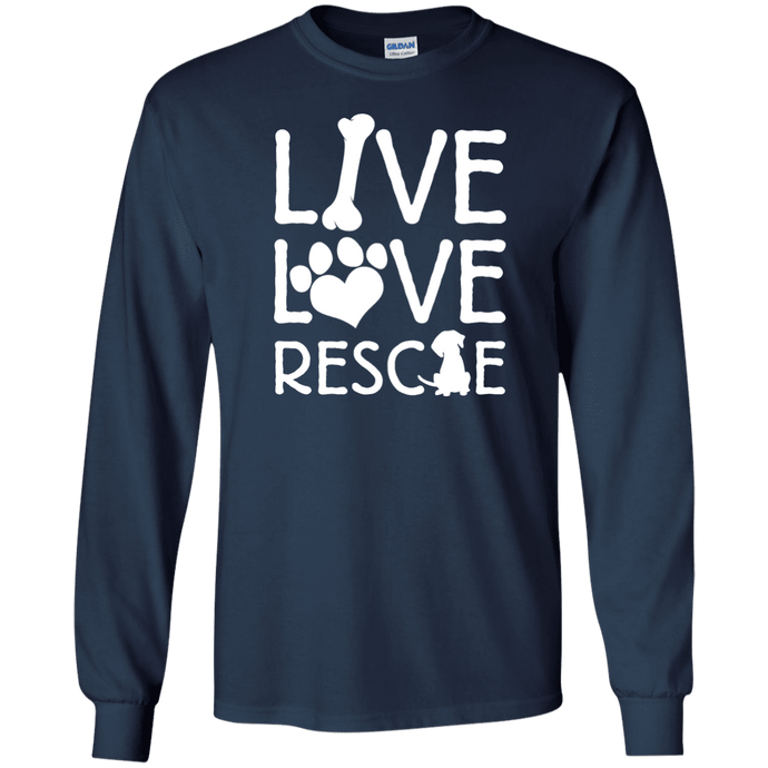 Live Love Rescue - Long Sleeve Rescuers Club