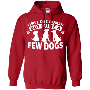Love One Woman Few Dogs - Hoodie Rescuers Club
