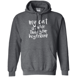 My Cat Is Cuter Than Your Boyfriend - Hoodie Rescuers Club