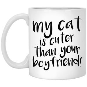 My Cat Is Cuter Than Your Boyfriend - Mugs Rescuers Club