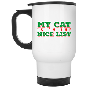 My Cat Is On The Nice List - Mugs Rescuers Club